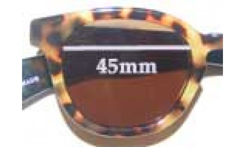 Eye Bob Half Wit Replacement Sunglass Lenses - 45mm Wide
