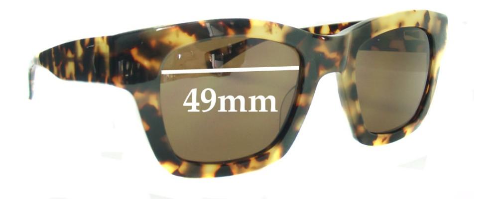 Eye Bob Helen Replacement Sunglass Lenses - 49mm Wide