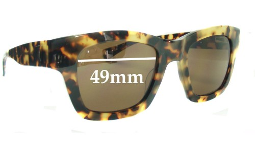 Eye Bob Helen Replacement Sunglass Lenses - 49mm Wide