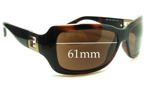Fendi FS450 Replacement Sunglass Lenses - 61mm wide