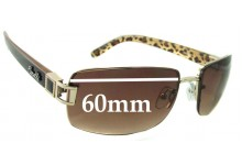 Fiorelli Daisy Replacement Sunglass Lenses - 60mm wide