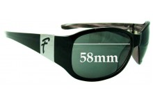 Fiorelli Unknown Replacement Sunglass Lenses - 58mm wide