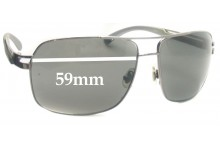 Fish Barb Replacement Sunglass Lenses - 59mm Wide