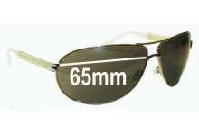 Fox The Injection Replacement Sunglass Lenses - 65mm Wide