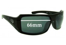 Fox The Median Replacement Sunglass Lenses - 66mm Wide