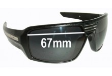 Fox The Study Replacement Sunglass Lenses - 67mm Wide