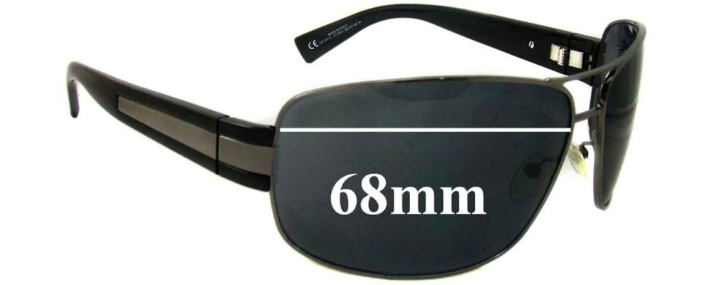 Giorgio Armani GA597/S Replacement Sunglass Lenses - 68mm Wide
