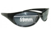 Glarefoil Thorpe Replacement Sunglass Lenses - 59mm wide