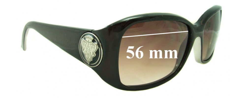 Gucci GG3026/S Replacement Sunglass Lenses - 56mm Wide
