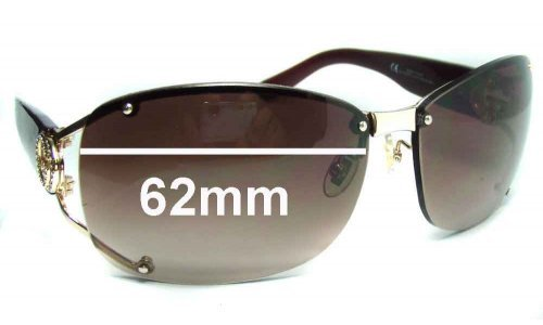 Gucci GG2820-F-S Replacement Sunglass Lenses - 62wide