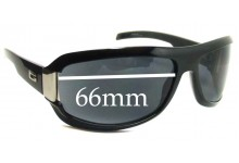 Gucci GG1511 Replacement Sunglass Lenses - 66mm wide