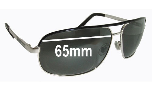 Gucci GG1857-S Replacement Sunglass Lenses - 65mm Wide