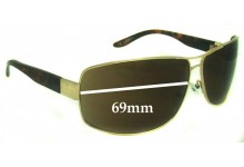 Gucci GG1894 Replacement Sunglass Lenses - 69mm wide