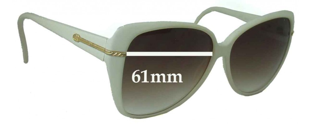 Gucci GG2111 S Replacement Sunglass Lenses - 61mm Wide