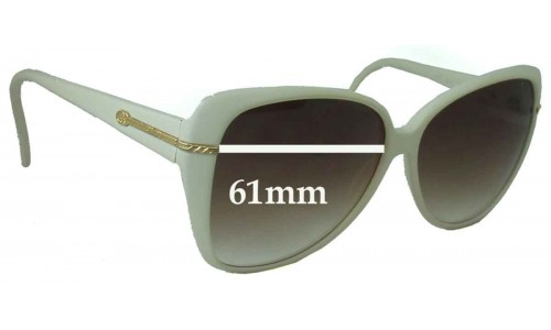 Gucci GG2111 S New Sunglass Lenses - 61mm Wide