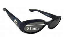 Gucci GG2419/N/S Replacement Sunglass Lenses - 51mm wide