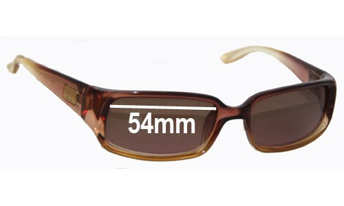 Gucci GG2455/S Replacement Sunglass Lenses - 54mm wide