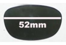 Guess GU6141 Replacement Sunglass Lenses - 52mm wide