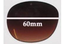 Guess GU7002 Replacement Sunglass Lenses - 60mm