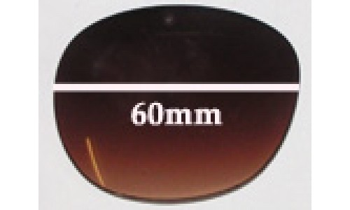 Guess GU7002 Sunglass Replacement Lenses - 60mm