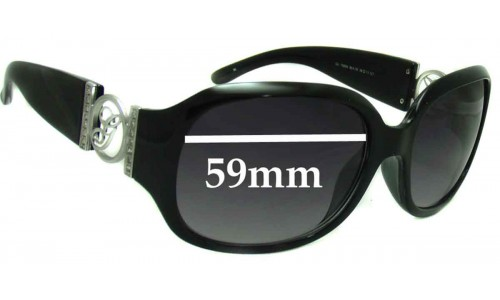 Guess GU7005N New Sunglass Lenses - 59mm