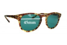 HAN Timeless Replacement Sunglass Lenses - 45mm Wide