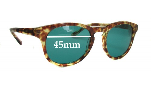 HAN Timeless New Sunglass Lenses - 45mm Wide