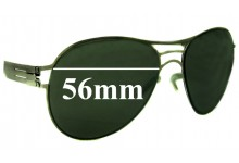 IC! Berlin Roger Replacement Sunglass Lenses - 56mm wide