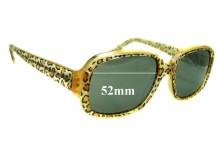 Jean Lafont - Paris Exlibris 380 Replacement Sunglass Lenses - 52mm wide