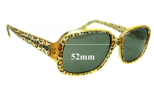 Jean Lafont - Paris Exlibris 380 New Sunglass Lenses - 52mm wide