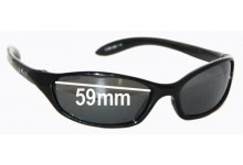 Julbo Cube Replacement Sunglass Lenses - 59mm wide