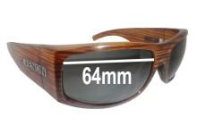 Sunglass Fix New Replacement Lenses for Kaenon Gauge - 64mm Wide