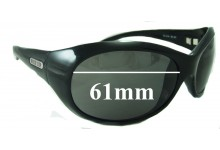 Killer Loop KL4144 Replacement Sunglass Lenses - 61mm wide