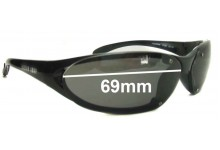 Killer Loop Insomnia 4134 Replacement Sunglass Lenses - 69mm Wide