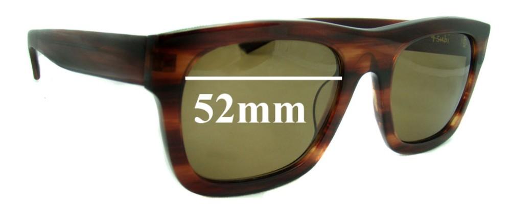 Ksubi Al Nair Replacement Sunglass Lenses - 52mm Wide