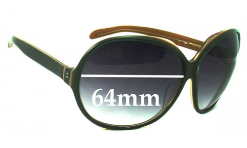 LouenHide Unknown Replacement Sunglass Lenses - 64mm across