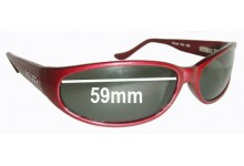 Mako Chicane 9435 Replacement Sunglass Lenses - 59mm Wide