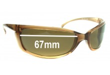 Mako Buzz 9440 Replacement Sunglass Lenses - 67mm Wide