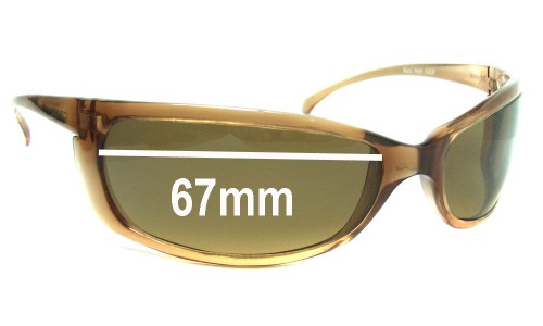 Mako Buzz 9440 Replacement Sunglass Lenses - 67mm Wide