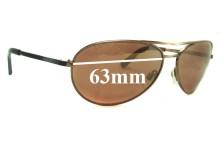 Sunglass Fix Replacement Lenses for Mako Venom 9489 - 63mm Wide