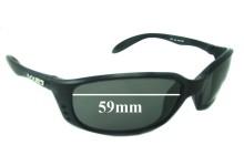 Mako Sea Hawk 9527 Replacement Sunglass Lenses - 59mm