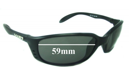 Mako Sea Hawk 9527 Replacement Sunglass Lenses - 59mm