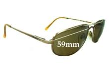 Mako Castaway Replacement Sunglass Lenses - 59mm wide