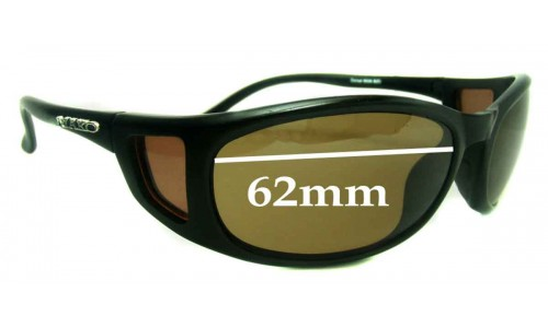 Mako Dorsal 9526 Replacement Sunglass Lenses - 62mm Wide