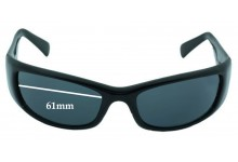 Mako Grin 9505 Replacement Sunglass Lenses - 61mm wide
