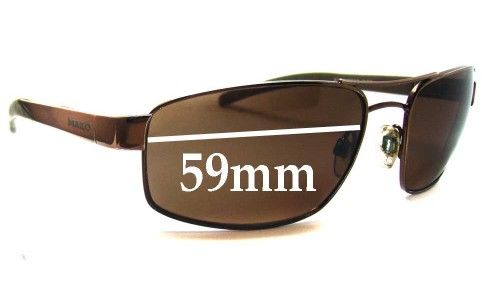 Mako Kick 9502 New Sunglass Lenses - 59mm Wide