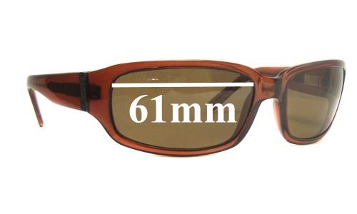 Mako Legend 9508 Replacement Sunglass Lenses - 61mm Wide