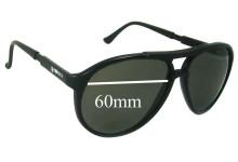 Mako Navigator 9307 Replacement Sunglass Lenses - 60mm Wide