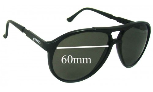 Mako Navigator 9307 Replacement Sunglass Lenses - 60mm Wide