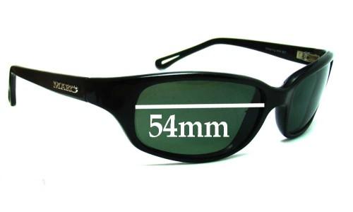 Mako Offspring 9464 New Sunglass Lenses - 54mm Wide